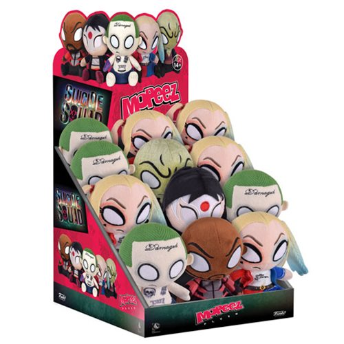 Suicide Squad Mopeez Plush Display Case