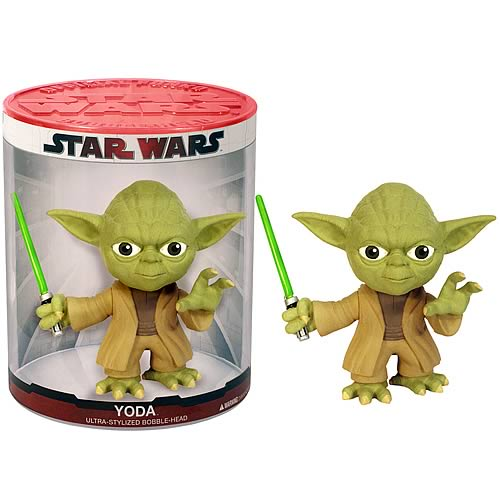 Star Wars Yoda Funko Force Bobble Head