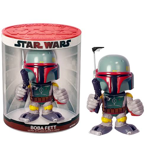 Star Wars Boba Fett Funko Force Bobble Head