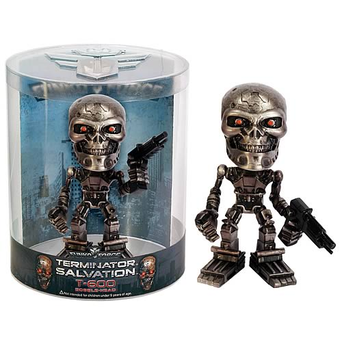 Terminator Salvation Funko Force T-600 Bobble Head