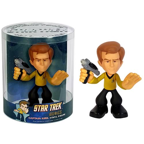 Star Trek Vinyl Figures: Quogs Captain Kirk
