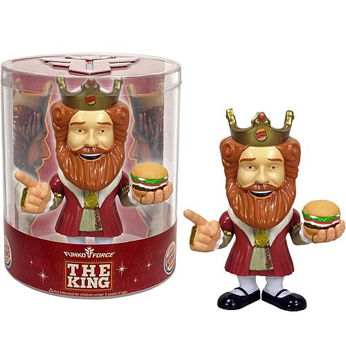 Burger King Funko Force Figure, Not Mint