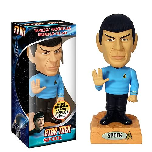 Star Trek Spock Talking Bobble Head