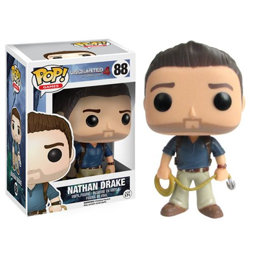 Uncharted 4 A Thief S End Nathan Drake Pop Vinyl Figure