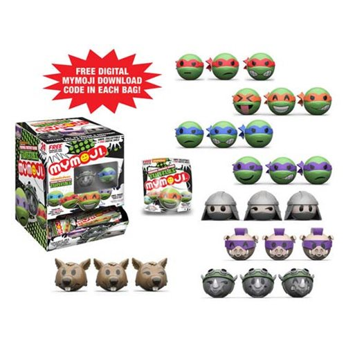 TMNT Mymoji Mini-Figure Random 4-Pack