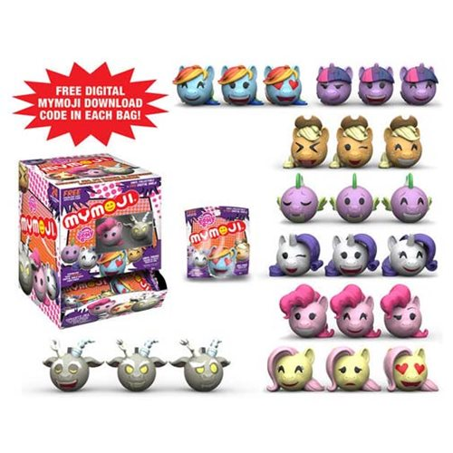 MLP: Friendship is Magic Mymoji Mini-Figure Display Case