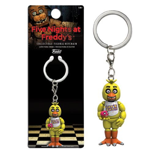 Five Nights at Freddy's Chica Figural Key Chain -  Funko