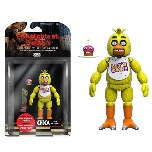Five Nights at Freddy's Chica 5-Inch Action Figure -  Funko
