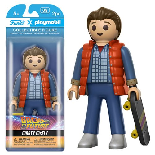 Back to the Future Marty McFly Playmobil Action Figure