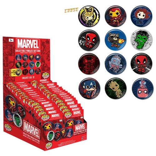 Marvel Pop! Button Display Case