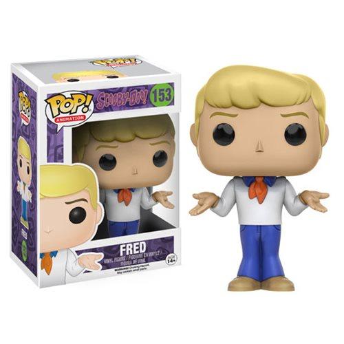 Scooby-Doo Fred Pop! Vinyl Figure