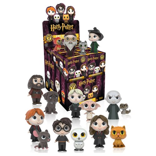 Harry Potter Mystery Minis Mini Figure Random 4 Pack Funko Harry Potter Mini Figures At