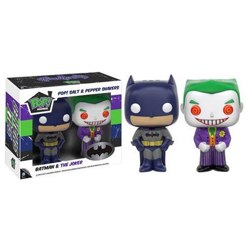 Batman and Joker Pop! Home Salt and Pepper Shaker Set