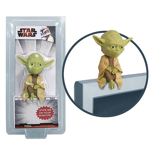Star Wars Yoda Computer Sitter Bobble Head