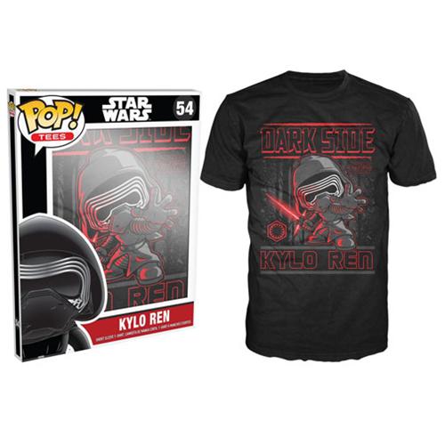 Star Wars: Episode VII Kylo Ren Poster Black Pop! T-Shirt