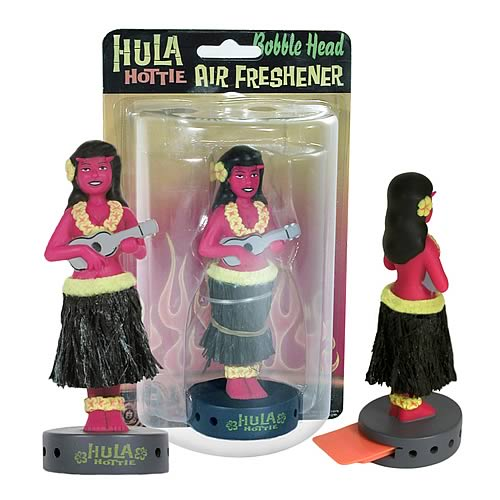 Hula Hottie BobbleBreeze Bobble Head Air Freshener