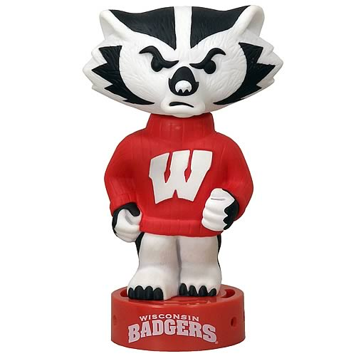 Wisconsin Badger Bobble Breeze Bobble Head