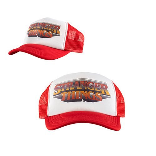 Stranger Things Logo Gradiant Trucker Hat