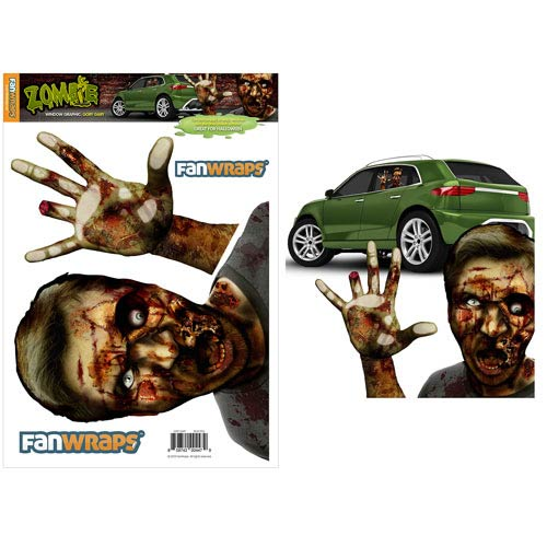 Zombie Window Buddies Gory Gary Window Car Decal