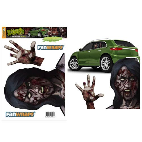 Zombie Window Buddies Sick Suzie Window Car Decal