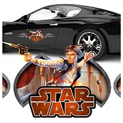 Star Wars Han Solo Action Series Vehicle Graphic