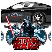 Star Wars Darth Vader Action Series Vehicle Graphic