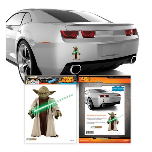 star wars yoda mini vehicle graphic fanwraps star wars. Black Bedroom Furniture Sets. Home Design Ideas