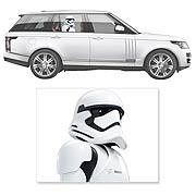 Star Wars First Order Stormtrooper Passenger Car Decal