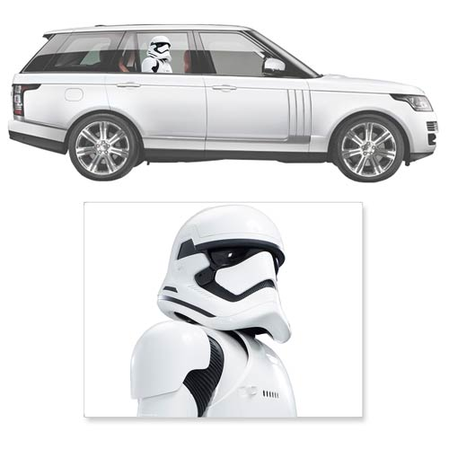 Star Wars: The Force Awakens First Order Stormtrooper Window Wrap Passenger Series Car Decal