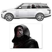 Star Wars Kylo Ren Window Wrap Passenger Series Car Decal