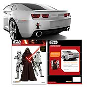 Star Wars Episode VII The Force Awakens Kylo Ren Stormtroopers Mini Decal
