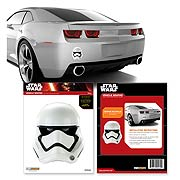 Star Wars First Order Stormtrooper Helmet Car Decal