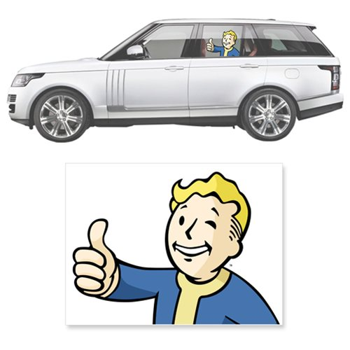 Fallout 4 Car Stickers