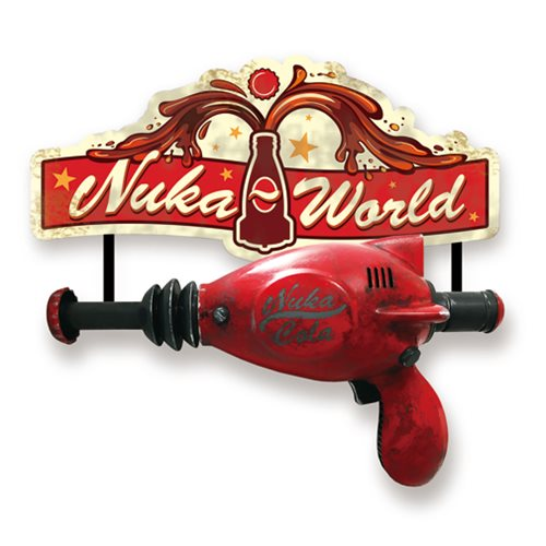 Fallout 4 Nuka Cola Thirst Zapper Full Scale Wall Armory Accessory