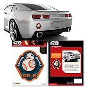 Star Wars Episode VII The Force Awakens BB 8 Mini Car Decal