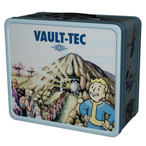 Your Own Fallout Vault... in Lunch Box Form