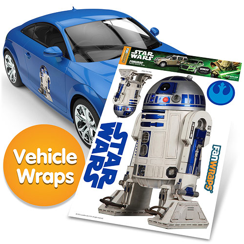 Star Wars R2-D2 FanWraps Car Decal