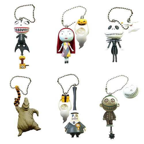 The Nightmare Before Christmas Figural Key Chain Display Box