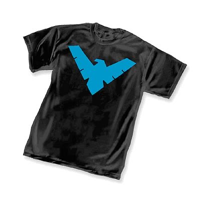 Batman Animated Nightwing Symbol T-Shirt