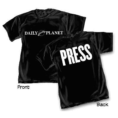 Superman Daily Planet Press T-Shirt