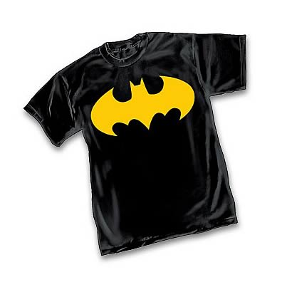 Batman Gold Symbol T-Shirt