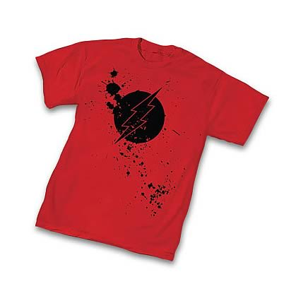 The Flash Splatter Symbol T-Shirt