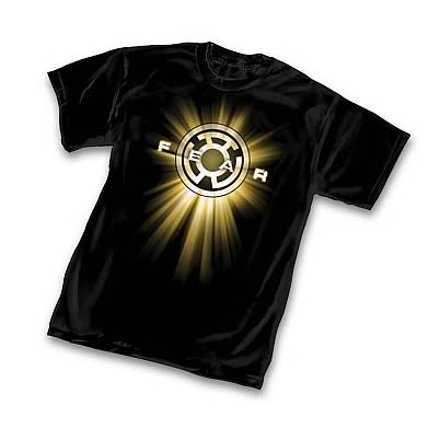 Green Lantern Yellow Lantern Symbol T-Shirt