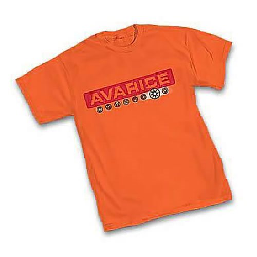 Green Lantern Orange Lantern Avarice T-Shirt