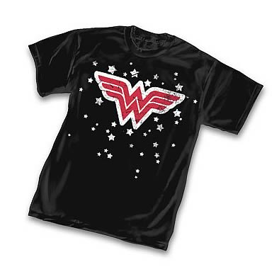 Wonder Woman Stars Symbol T-Shirt