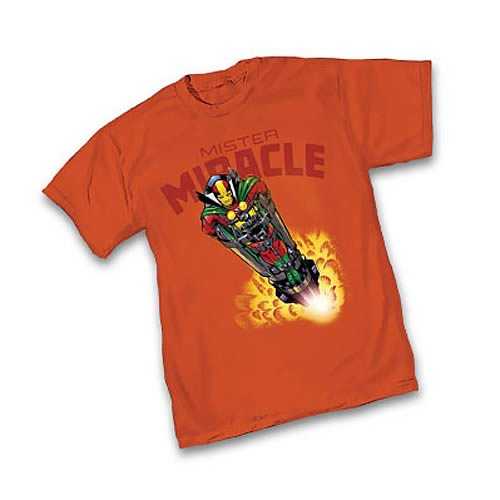 Mister Miracle By Jack Kirby T Shirt Graphitti Designs