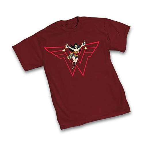 Wonder Woman In Flight T-Shirt