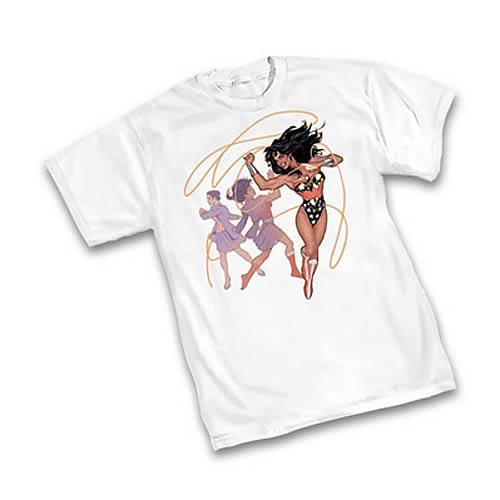 Wonder Woman Transformation T-Shirt