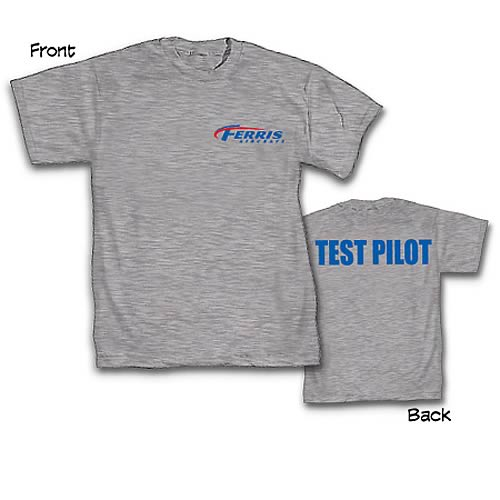 Green Lantern Movie Ferris Aircraft Test Pilot T-Shirt