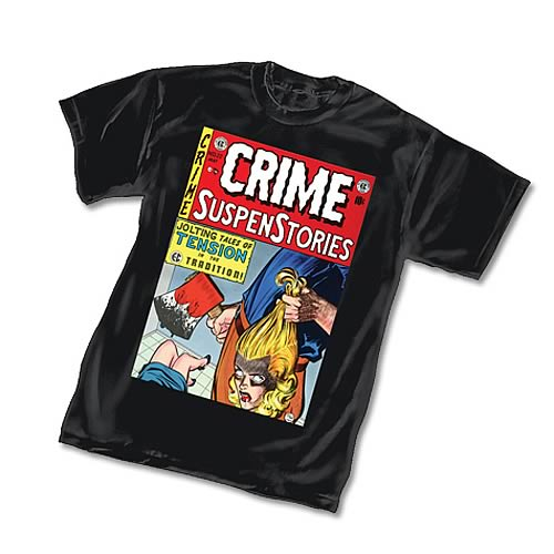 E.C. Comics Crime SuspenStories T-Shirt